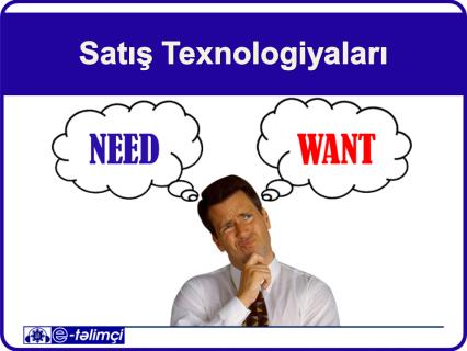 Satış Texnologiyaları (E518)