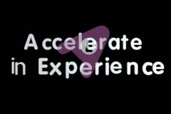 Accelerate In Experience in 6 weken
