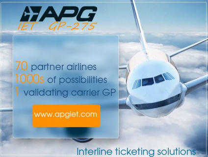 APG IET (Interline e-ticketing)