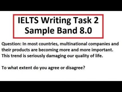 IELTS Writing Test Preparation (Dori IELTS WRT 01)