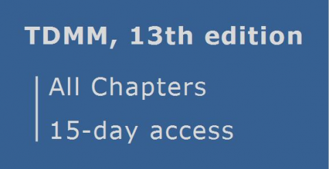 TDMM 13th edition ... All Chapters ... 15 day access (RCDD.04.15)