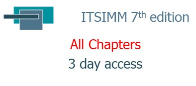ITSIMM 7th edition ... All Chapters ... 3 day access (07.03.ITSIMM)
