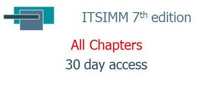 ITSIMM 7th edition ... All Chapters ... 30 day access (07.30.ITSIMM)