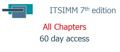ITSIMM 7th edition ... All Chapters ... 60 day access (07.60.ITSIMM)