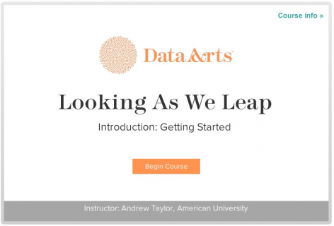 Looking as We Leap: Data for Decisions