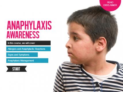Anaphylaxis Awareness (ANA0017)