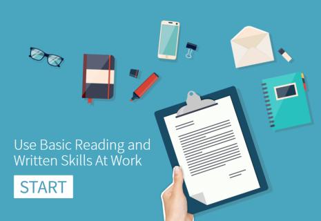 Use Basic Reading and Writing Skills at Work (RRW0017)
