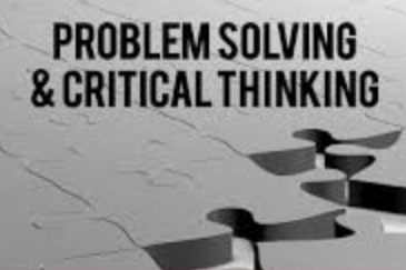 (Critical Thinking & Problem Solving Skills)