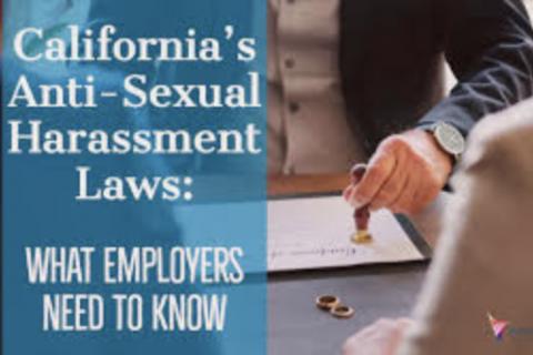 (California Mandatory Sexual Harassment Training For Supervisors)