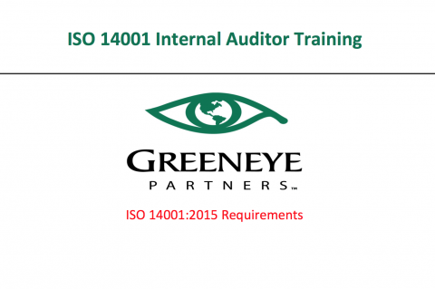 ISO 14001:2015 Internal Auditor Course