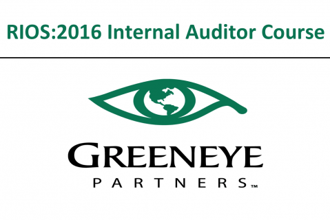 RIOS:2016 Internal Auditor Course