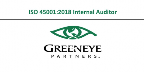 ISO 45001:2018 Internal Auditor Course