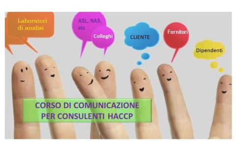COMUNICAZIONE EFFICACE PER CONSULENTI HACCP