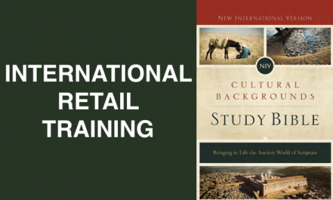 International Retail Training: NIV Cultural Backgrounds Study Bible (CBSB2016-INTL)