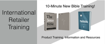 International Retail Training: The Jesus Bible & NIV Faithlife Study Bible (W-2017INTL)