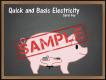 Q & B Electricity SAMPLE