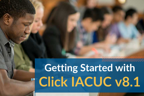 Getting Started with Click IACUC v8.1 (IACUCv8.1_101)