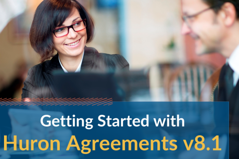 Getting Started with Huron Agreements v8.1 (Agreev8.1_101)
