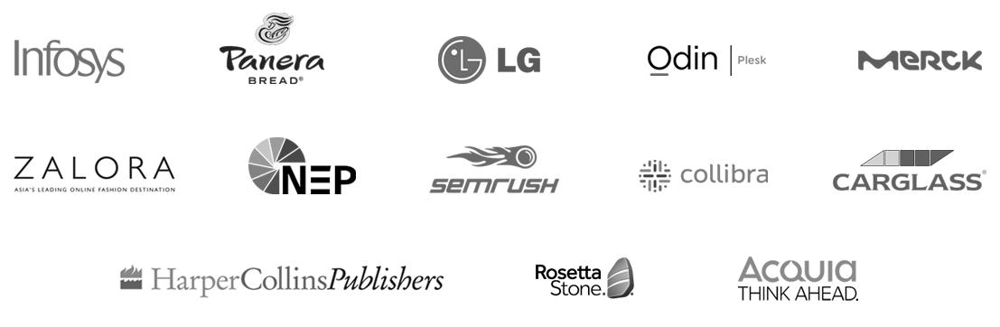 TalentLMS customers logo