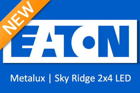 EATON | Metalux - SkyRidge Recessed LED Troffer