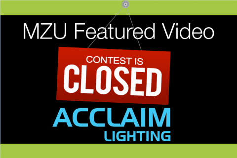 MZU Featured Video | ACCLAIM LIGHTING