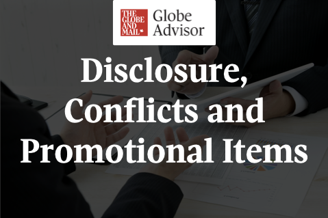 Disclosure, Conflicts and Promotional Items (LCIFGA003)