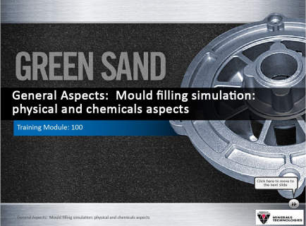 100 -Mould filling simulation: physical and chemicals aspects