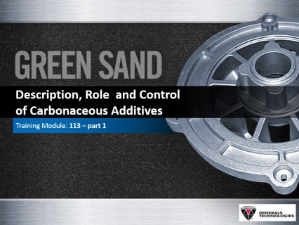 113 -Description, Role  and Controlof Carbonaceous Additives