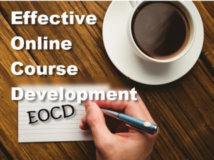 EOCD - Effective Online Course Development (EOCD)