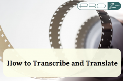 How to transcribe and translate thumbnail