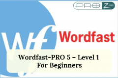 Wordfast-PRO 5 – Level 1 - For Beginners thumbnail