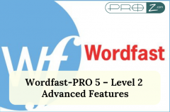 Wordfast-PRO 5 – Level 2 Advanced Features thumbnail