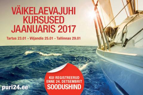 Väikelaevajuhi kursused (VLJ) (KKVLJ003)