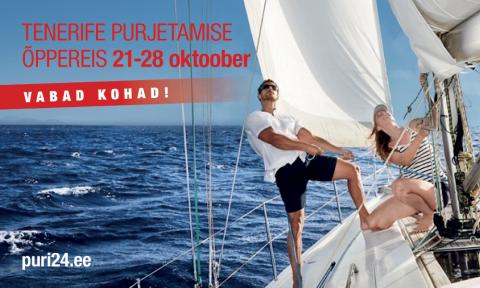 Tenerifele purjetama 21-28 Oktoober (KKVLJ004)