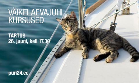 Väikelaevajuhi kursused TARTU (KKVLJ003-klooni)