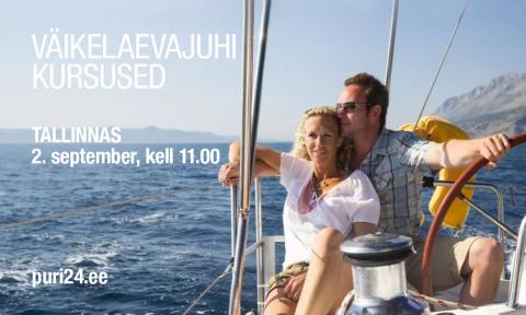 Väikelaevajuhi kursused TALLINN (KKVLJ003)