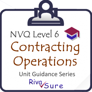 CCM Level 6 SERIES STARTER Guidance Unit (Construction CONTRACTING Operations, General Building) (NVQ6CCM)