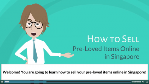 How to Sell Pre-Loved Items Online in Singapore [Deaf-friendly Course] (Dig-002)