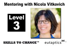 NOV - Level 3 Mentoring with Nicola Vitkovich - Nov. 19, 2021 - 10:30 am Central