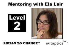 NOV - Level 2 Mentoring with Ela Lair - Nov. 9, 2021 - 11:00 am Central