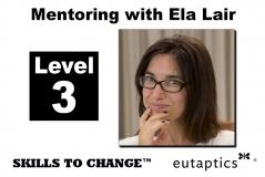 NOV - Level 3 Mentoring with Ela Lair - Nov. 9, 2021 - 12:30 pm Central
