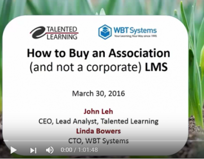 How to Buy an Association (and not a corporate) LMS