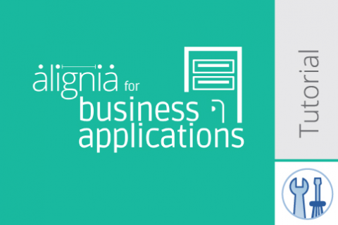 ALIGNIA for Business Applications - Functional - SelfTraining (UNI-BLT)