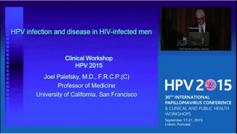 HPV infection and disease in HIV-infected men