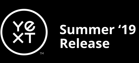 Summer'19 Product Release