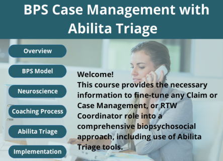 Case Management with Abilita Triage (D03)