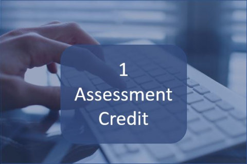 1 Assessment Credit (AS02)