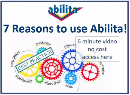 7 Reasons to use Abilita (D01)