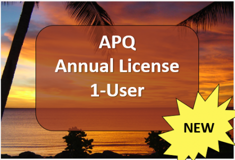APQ Annual License - 1 User (E02)