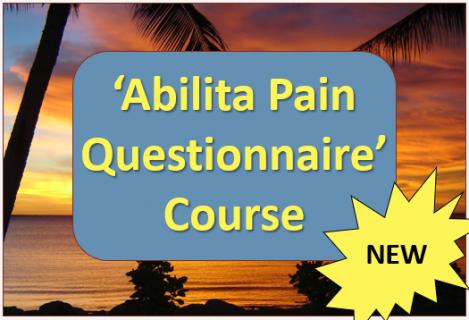 Abilita Pain Questionnaire Course (A03)